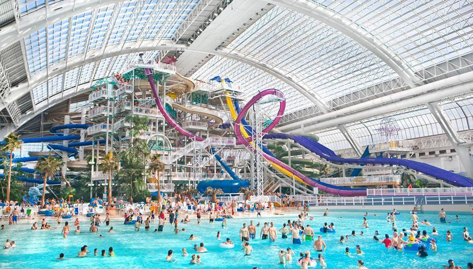 North america the blonde beyond west edmonton mall largest mall in north america sporting over eight hundred international and local stores a water park amusement park ice rink sciox Images